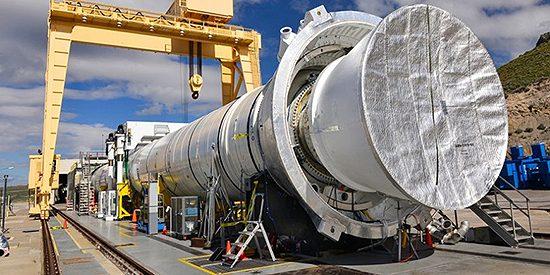 Ariane 6, Europos Kosmoso Agentūra, Ariane 5, Kinija, Airbus Ariane 6 P120 - paruoštas ugnies bandymams