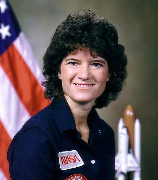 Sally Ride moterys kosmose