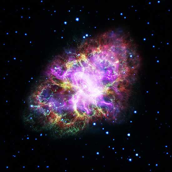 Pulsaras Krabo ukas Neutrinas, neutronas, neutroninė žvaigždė, cefeidė, pulsaras, juodoji bedugnė, gravitonas