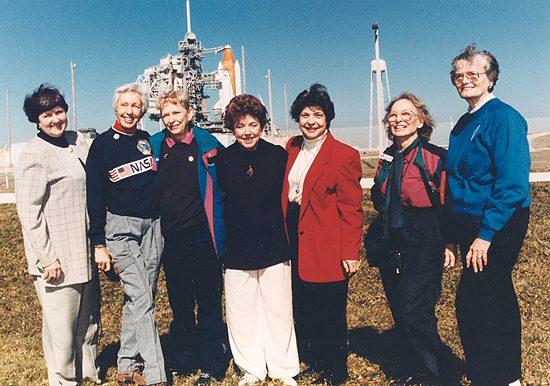 Testai, astro, rekordai, pirmasis, pirmoji 1995 Mercury13