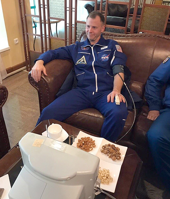 Soyuz MS-10, Baikonuras, TKS, Nick Hague
