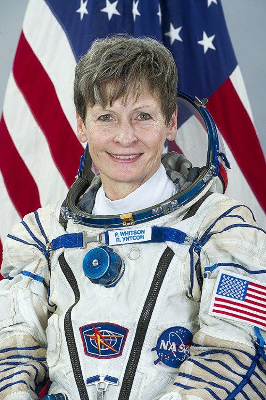 Testai, astro, rekordai, pirmasis, pirmoji Peggy Whitson