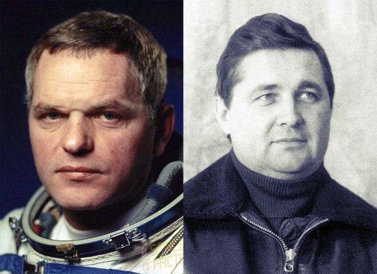 Buran, Space Shuttle, Rimantas Stankevičius, Igor Volk, Aleksandr_Sciukin_Nikolaj_Sadovnik