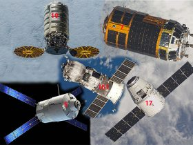 Cygnus, HTV, ATV, Dragon, Progress, krovininis, erdvėlaivis