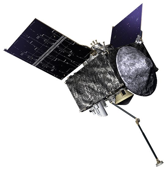 Asteroidai, Osiris, Bennu, OSIRIS-REx_spacecraft