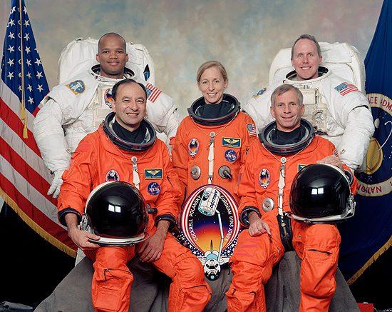 Kosmosas, skrydžiai, pavojai, Liberty Bell 7, LucaPermitano, Mir, STS-98_Atlantis, STS-98_crew