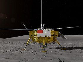 Kinija, Chang'e-4, Mėnulis, Rover