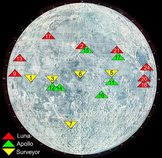 NASA, Apollo, Mėnulis