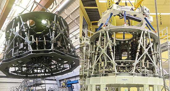 Orion spacecraft service module
