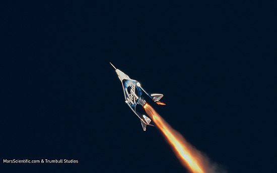 Virgin Galactic, N348MS, VSSUnity, SpaceShipTwoUnity