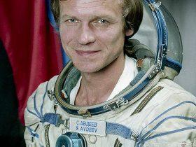 Sergej, Avdejev, kosmonautas, susitikimas