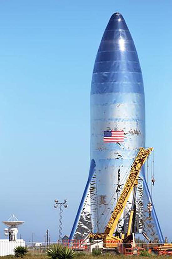 SpaceX, Starhopper, Starship, Raptor