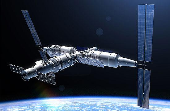Kinija, Mėnulis, stotis Tiangong-3