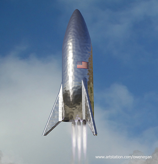 Boca Chica, SpaceX, Starhopper