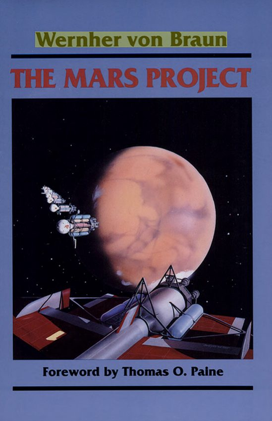 Werner fon Braun, Marsprojekt