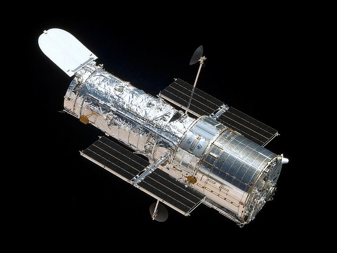 Hubble, Compton, HIPPARCOS, Newton