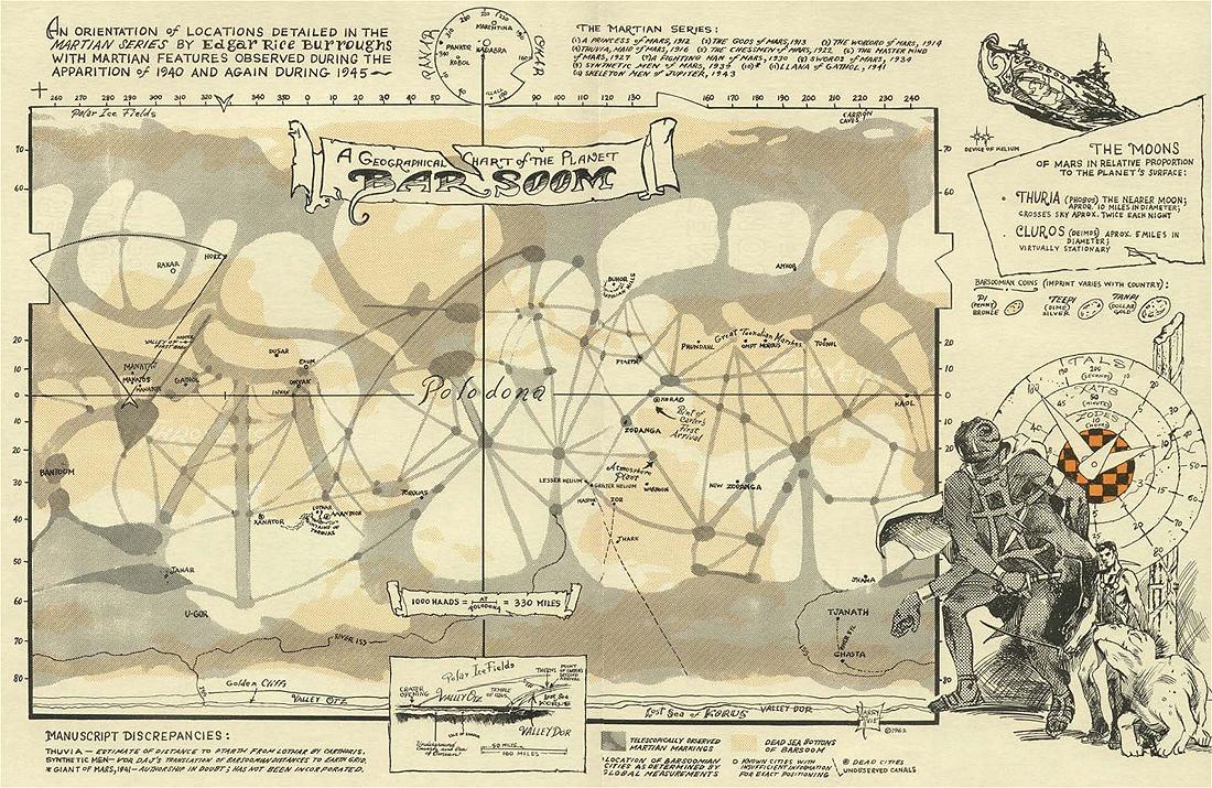 Marsas, Mariner, Viking, Barsoom