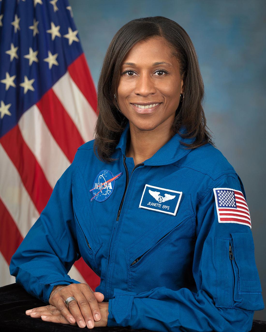 JeanetteJ Epps NASA Mėnulis