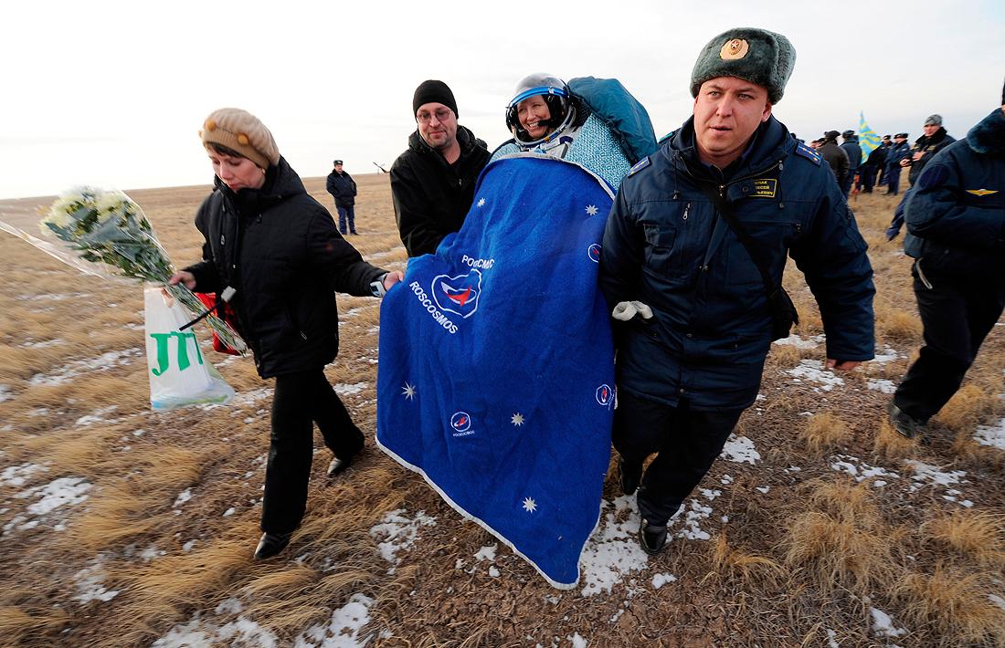 Expedition 25 Soyuz Landing