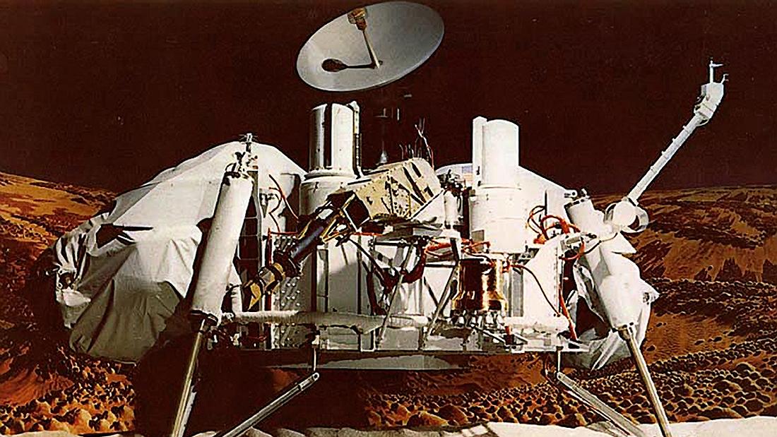Marsas, tyriklis, Viking-1