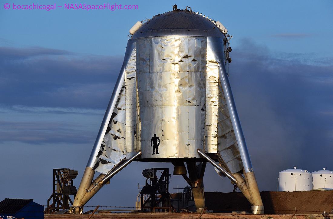 Starhopper, Raptor, SpaceX