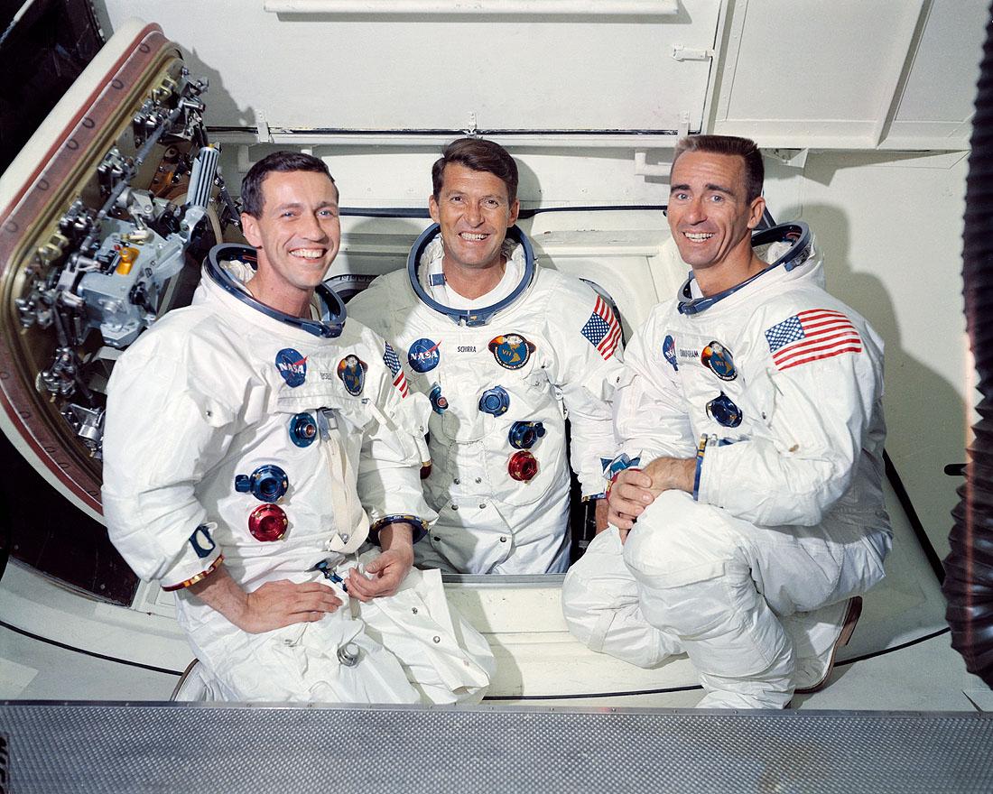 Apollo 7 crew members