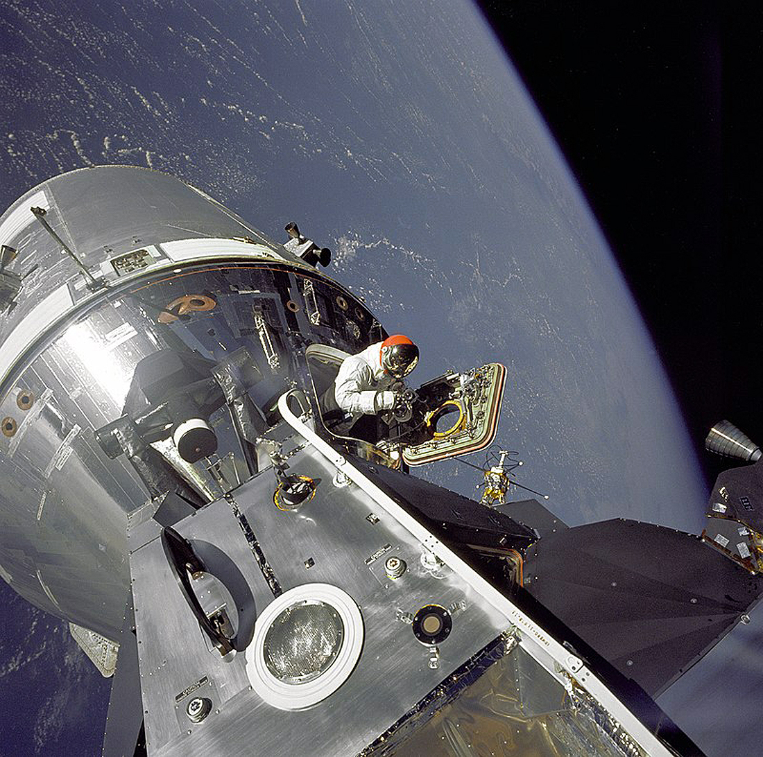 Apollo 9 Scott Schweickart