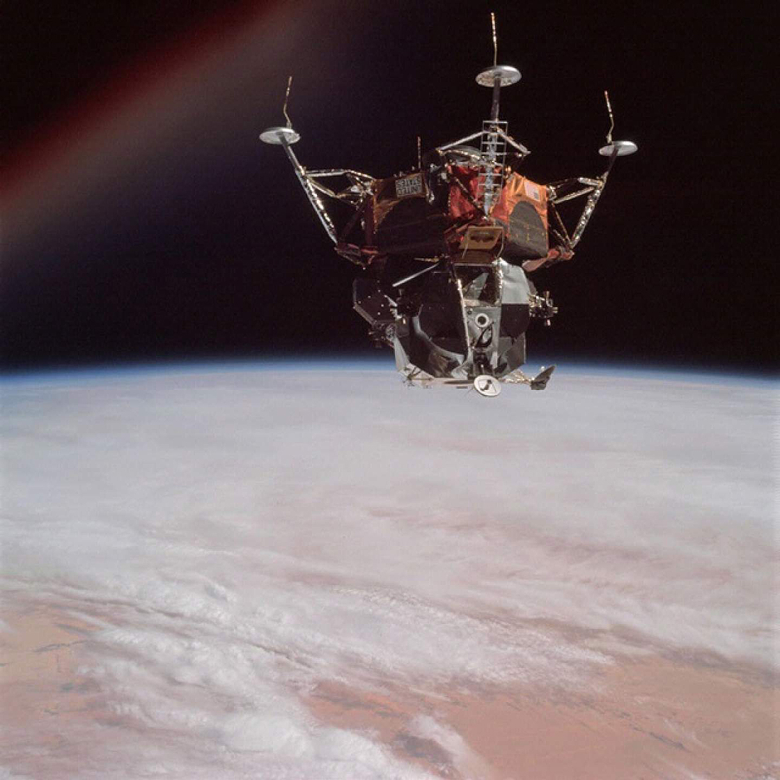 Apollo 9 Lunar module Spider