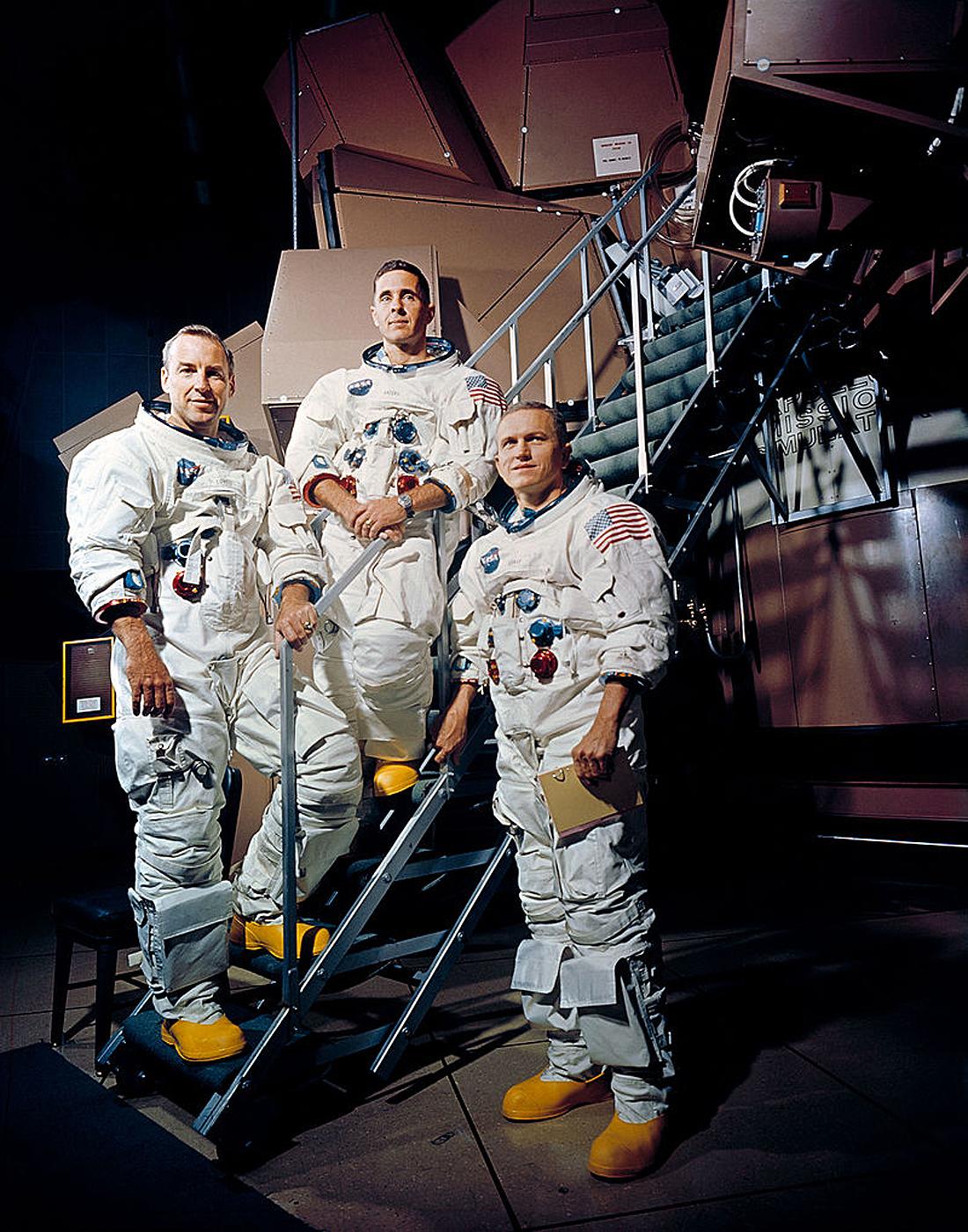 Apollo 8 NASA, crew members