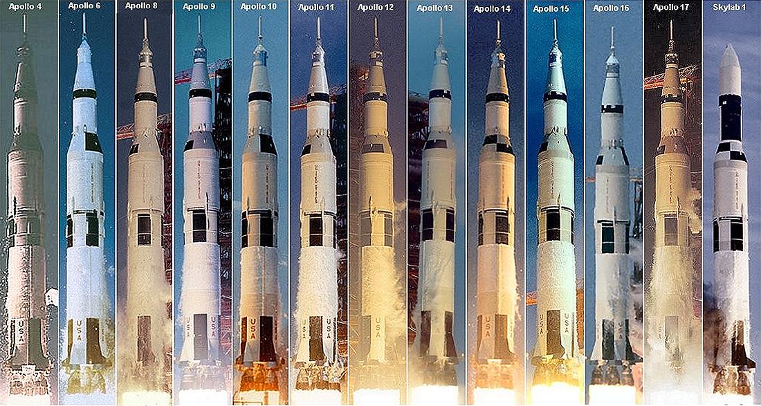 Saturn V All starts