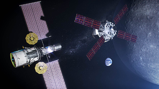 NASA; Mėnulis; Orion; Gateway