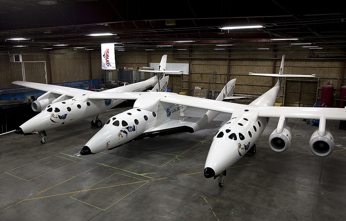 SpaceShipTwo and WhiteKnight2