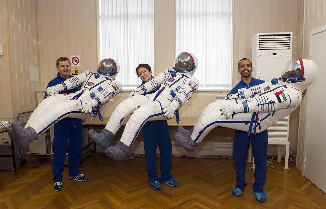 Soyuz MS-15, Skripochka, Meir, Mansouri