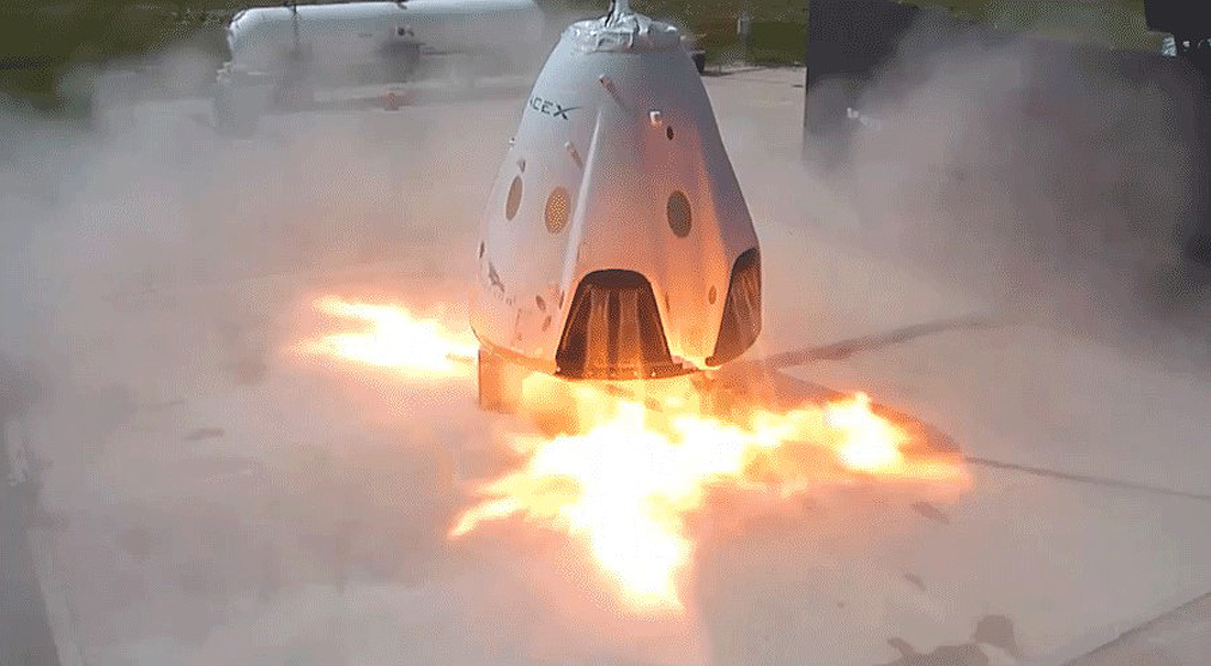 Crew Dragon Abort Test IFA