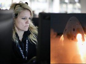 Gwynne-Mission-Control SuperDraco, NASA, CrewDraco