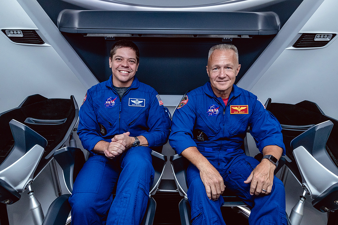 Bob Beknken, Doug Hurley, Crew Dragon, NASA