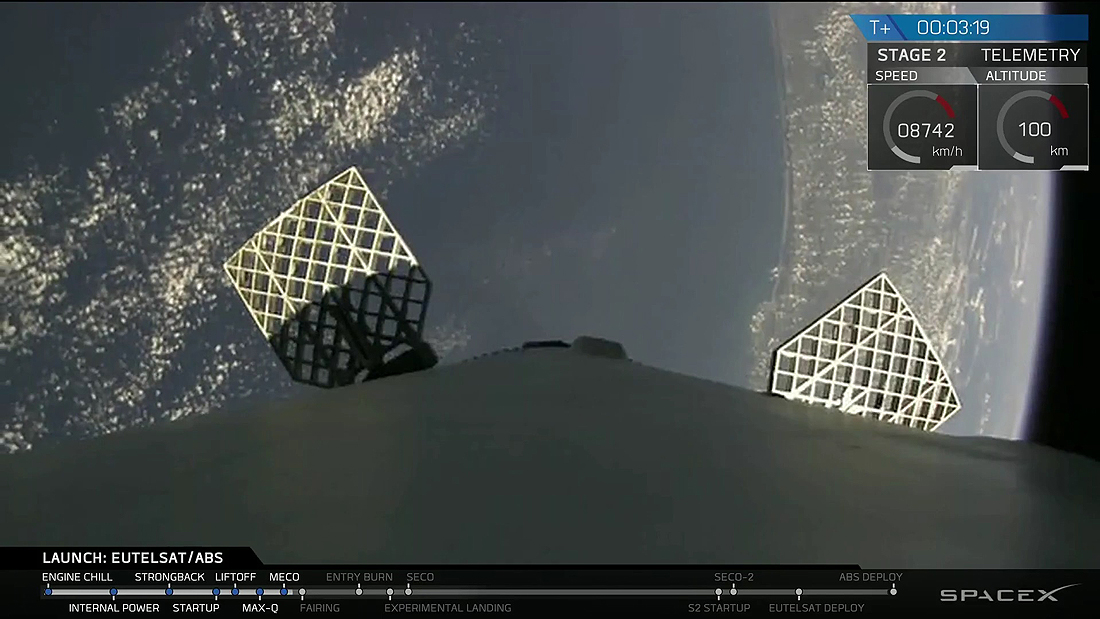 SpaceX, Sakalai, Falcon, f9-eutelsatabs-launch-8