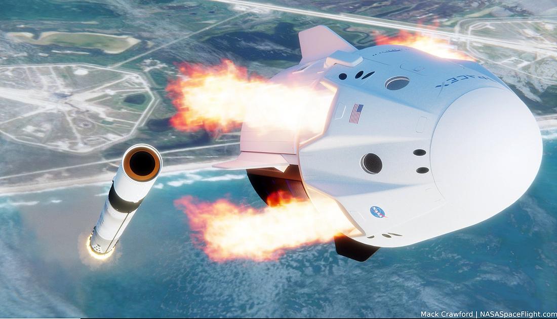 SpaceX, NASA, In-Flight Abort Test, IFA