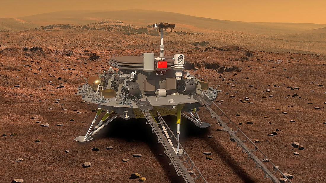 Mars Lander Rover China