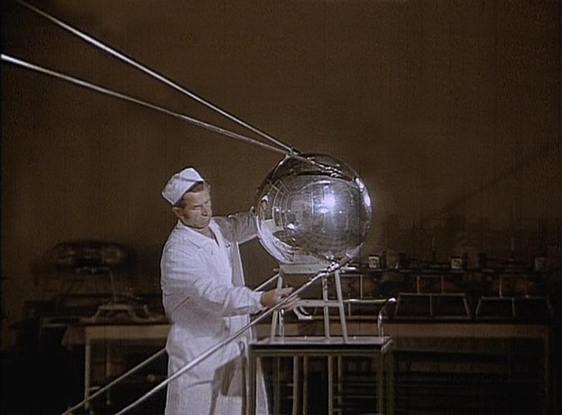 Satai, palydovai, Sputnik-1