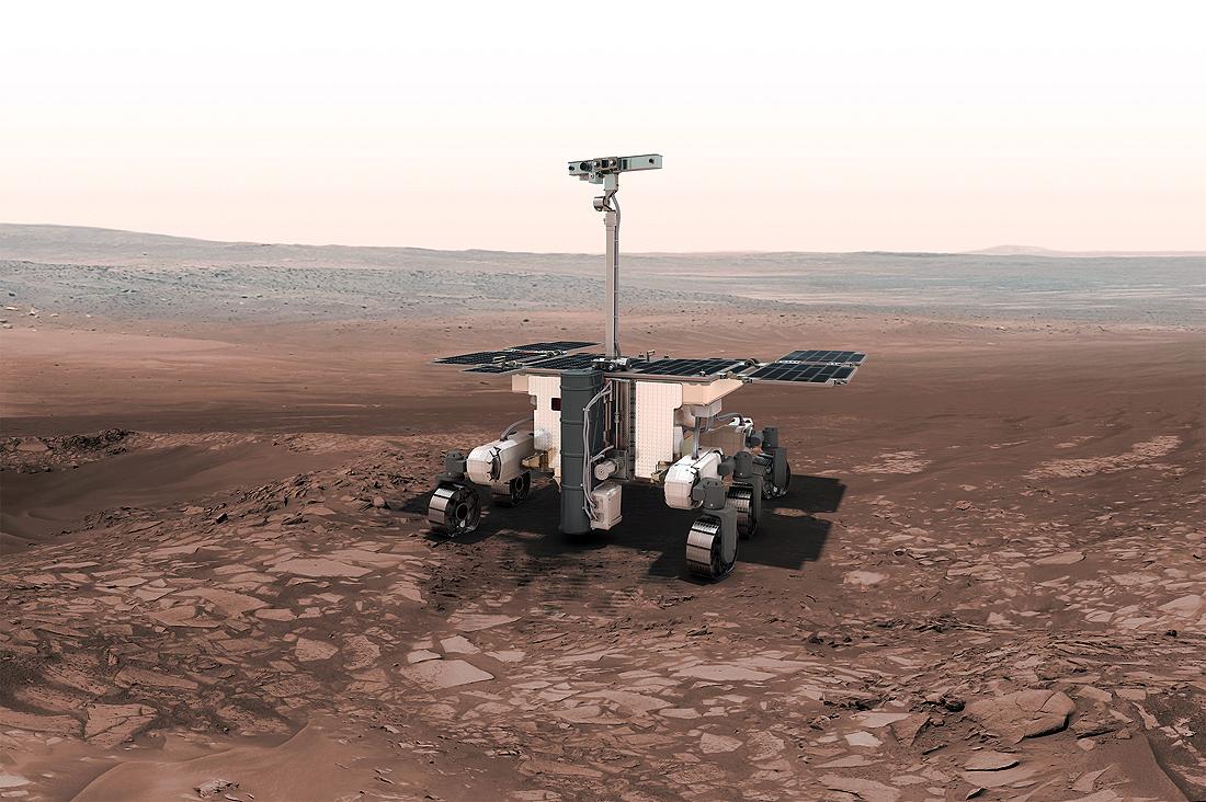 Rosalinda Franklin, ExoMars, ESA, NASA