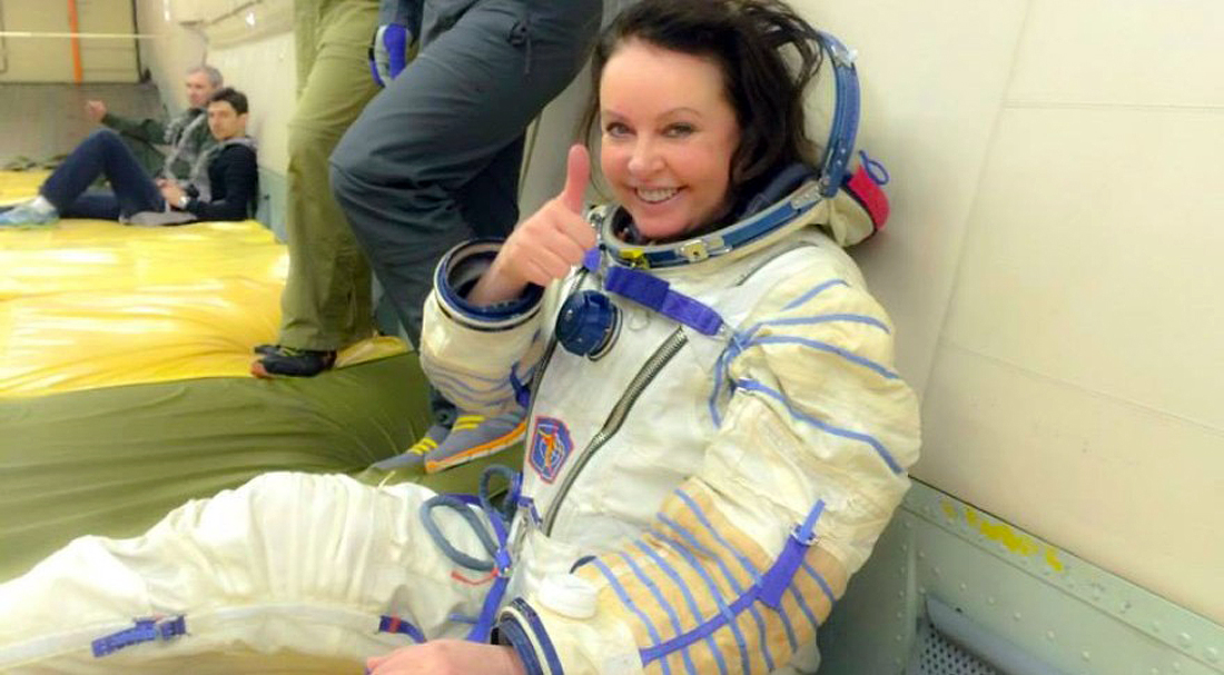 Space tourist Sarah Brightman-training, Space Adventures, SpaceX, Crew Dragon