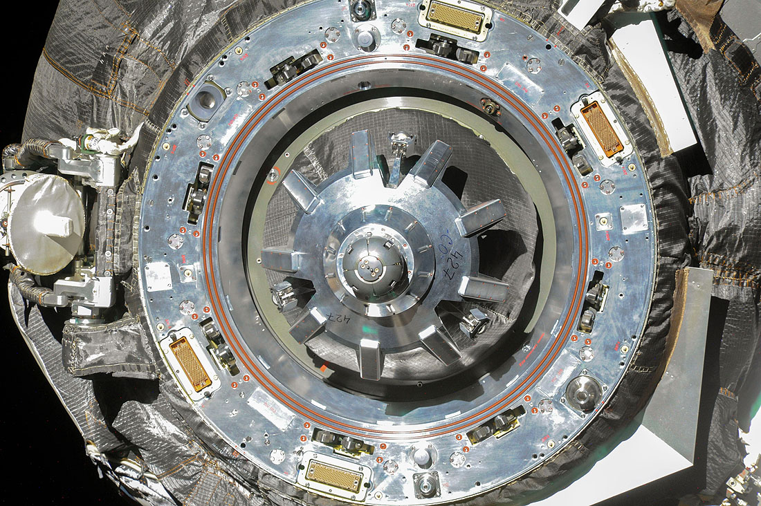Jungtys, russian space docking system, Progress