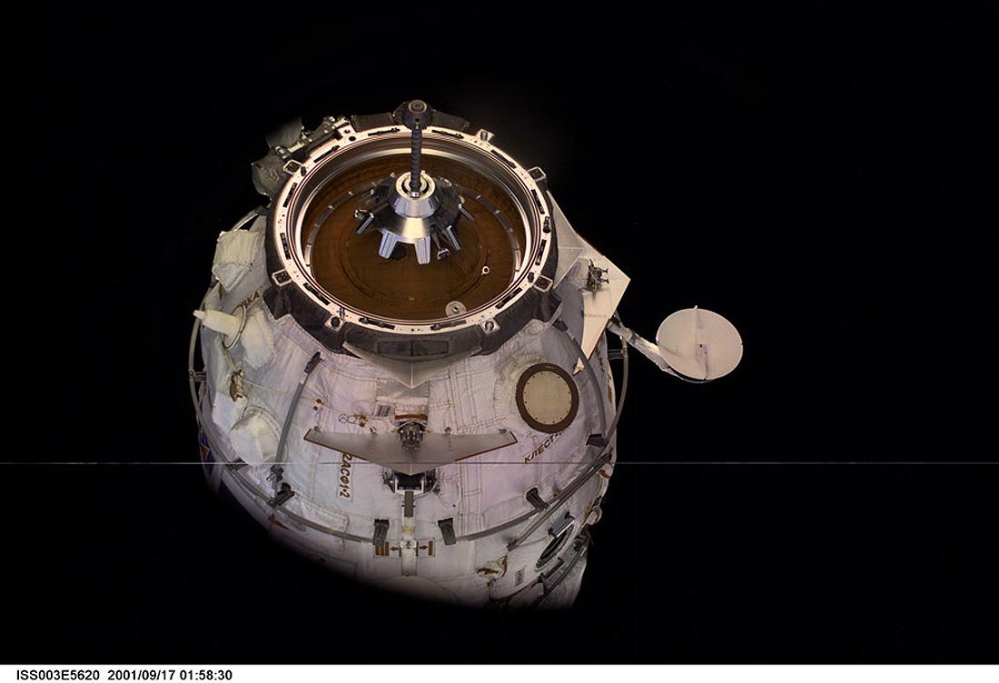Jungtys, Soyuz space docking system