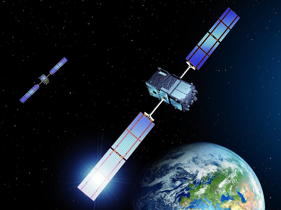 Jungtinė, Karalystė, GNSS, Galileo satellites