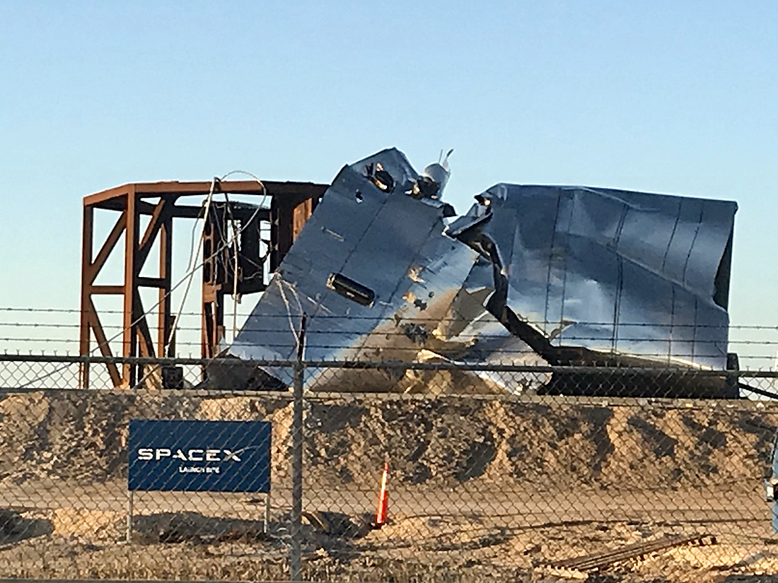 SpaceX, WDR test