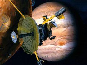 Jupiteris, tyrikliai, tyriklis, Galileo_spacecraft-39f2bdf