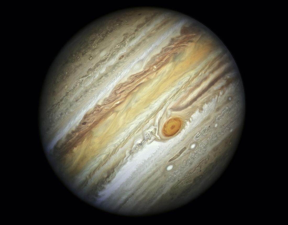 Jupiteris, tyrikliai, tyriklis, STSCI-H-Jupiter
