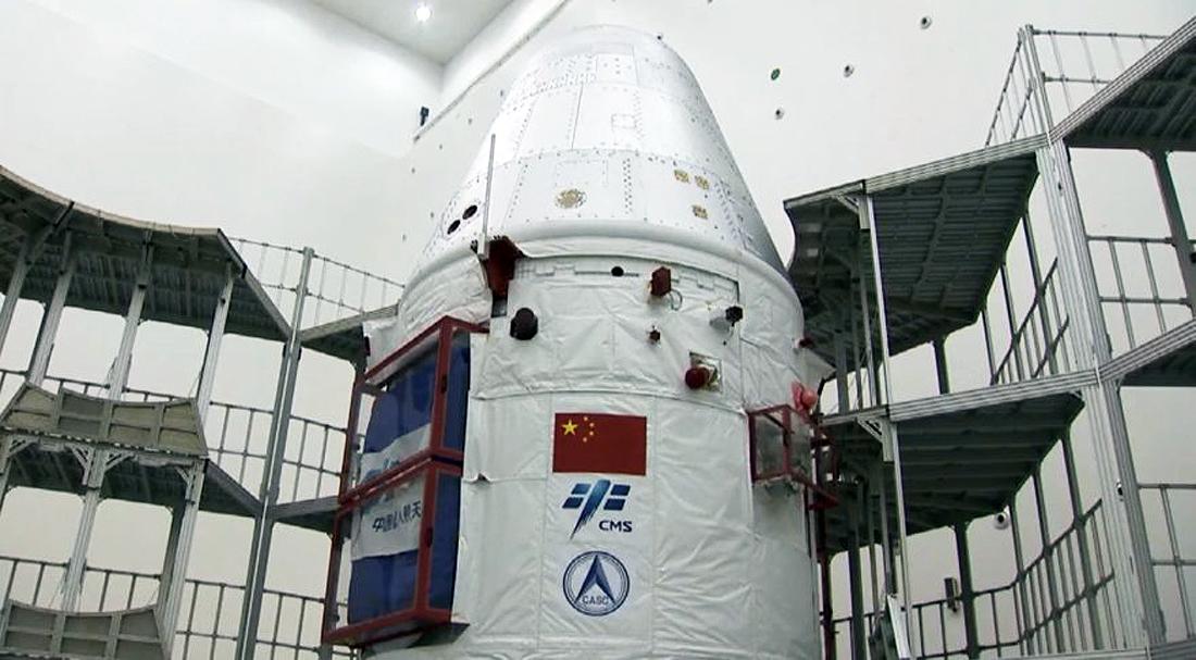 new-generation-crewed-spacecraft-March2020 Erdvėlaivis