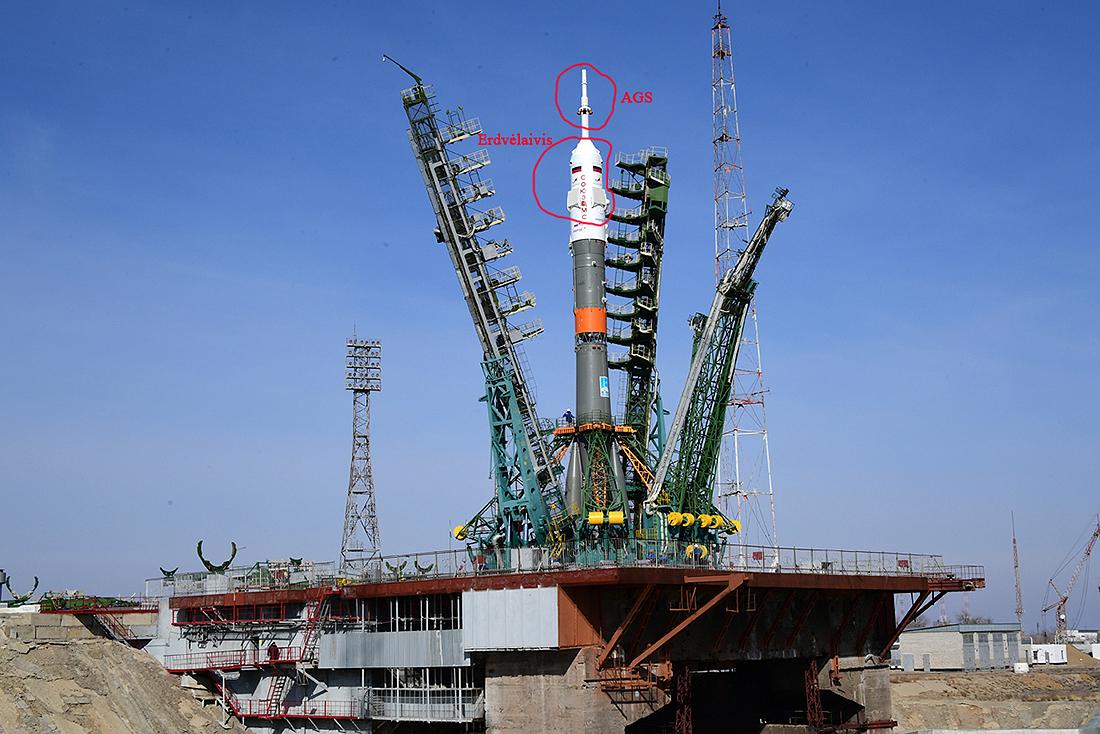 CZ-5B testai AGS_raketa_Soyuz